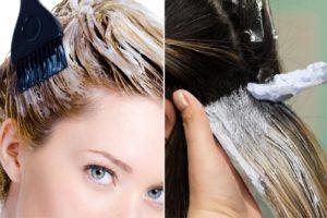 Избавление от вшей при покраске головы