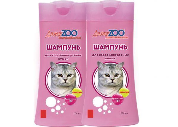  Шампунь для кошек {amp}quot;Доктор ZOO{amp}quot;. 
